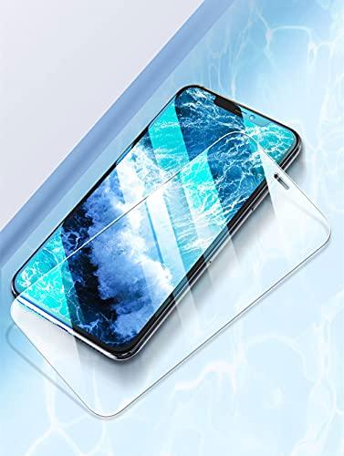 3 piezas de vidrio templado para iPhone 11 12 Pro Max 12 Mini protector de pantalla para iPhone X XS Max XR 7 8 6 Plus Vidrio protector, para iphone 12 Pro, 3 piezas