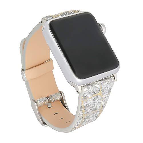 Compatible con Apple Watch Series 5 Correa 38 mm, Correas Deportivas Impermeables de Repuesto para Mujer Hombre 40 mm para Iwatch Series 6 5 4 3 2 1 SE,42mm/44mm