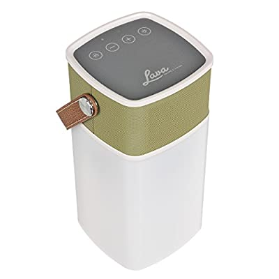 Lava BrightSounds 2 | Portable Bluetooth Speaker with Dimmer Controlled Lantern, Powerbank for Phone/Tablet Charging & Battery life up to 36hrs - Mustard by Lava
