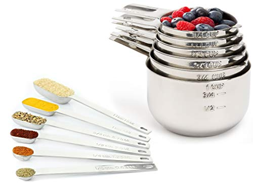 Measuring Cups and Spoons Set by Simple Gourmet