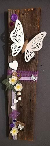 Altholzbrett,Schmetterling,rustikal
