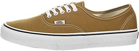 Vans Authentic Cumin/True White Men's Classic Skate Shoes Size 8