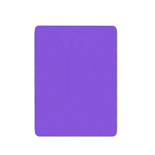 Kiki Colchoneta de Yoga Esterilla Yoga Yoga Mat Cubierta de Gran tamaño Grueso NBR Antideslizante cojín de Yoga for Entrenamiento Entrenamiento Yoga Ejercicio Abdominal Equipo for Deportes