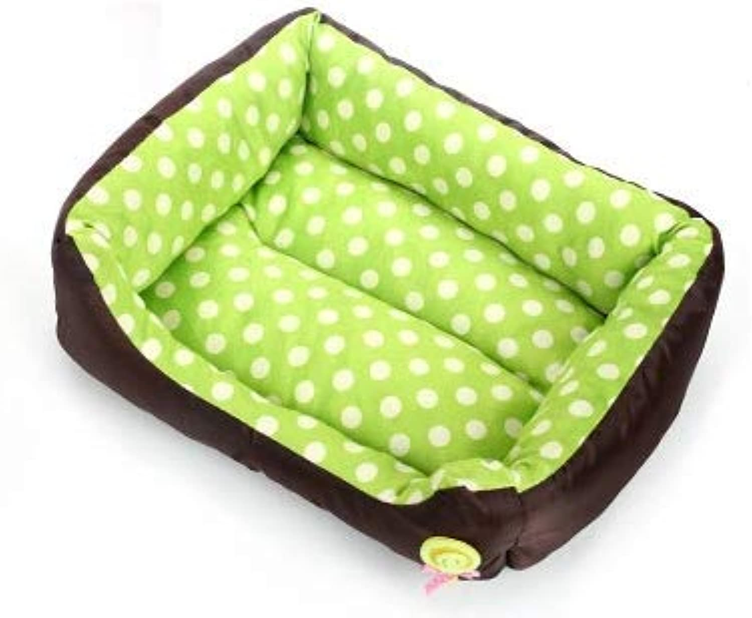 Pet Supplies Autumn and Winter New Warm Dog Kennel Soft Lollipop Little Square nest pad cat nest Small Dog Kennel