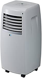 PerfectAire NP10000 10,000 BTU Portable Air Conditioner with Remote, 300-350 Sq. Ft. Coverage