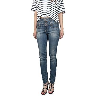 Women's High Waisted Stretch Skinny Denim Jeans