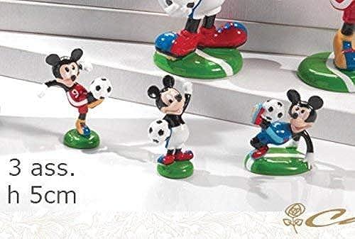 Publilancio SRL super Angebot 41 Stück Baby Maus Mickey Maus Harz-Fußballer 4.5 cm 1 Stück Auswahl