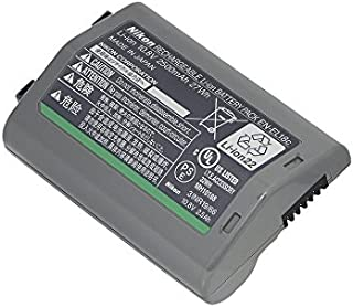 Nikon EN-EL18C Rechargeable Lithium-Ion Battery, 2500mAh Capacity, Black
