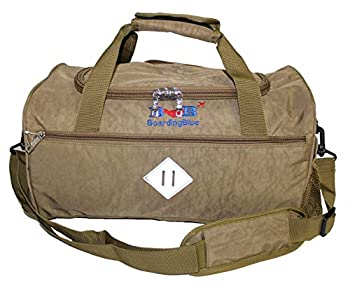 17  Personal Item Under Seat Duffel Bag for United Airlines  Beige  3-D Fedex