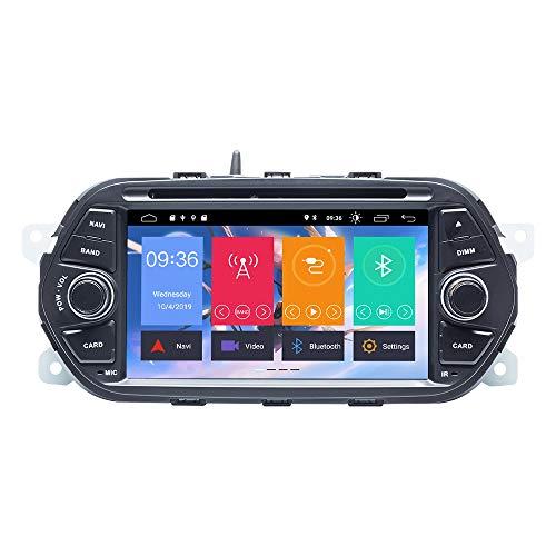 ZLTOOPAI Android 10 Autoradio per Fiat Tipo Aegea Egea 2015-2017 Stereo Auto GPS Navigation Media Player unità Singola Testa dinamica con IPS DSP Car Play