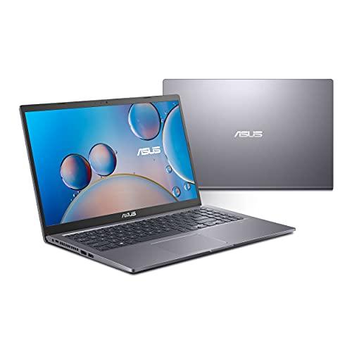 ASUS VivoBook 15 F515 Thin and Light Laptop, 15,6 Zoll FHD Display, Core i7-1165G7 Prozessor, Iris Xe Graphics, 8GB DDR4 RAM, 512GB SSD, Fingerabdruck, Windows 10 Home, Slate Grey, F515EA-DB75