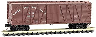 Micro-Trains MTL N-Scale 40ft Outside Braced Box Car Northern Pacific/NP #20300