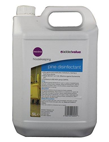 Maxima CPD10102 - Desinfectante con aroma de pino, 5 l