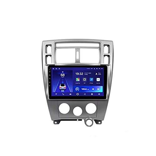 MIVPD Car Stereo Android 10.0 Radio para Hyundai Tucson 2004-2009 Navegación GPS 9 '' Unidad Principal Pantalla táctil HD Reproductor Multimedia MP5 Receptor de Video con 4G WiFi SWC Carplay