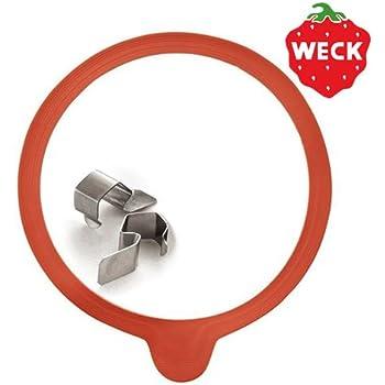 WECK ウェック ガラスキャニスター専用 クリップ&パッキンセット [ Lサイズ ]