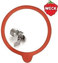 WECK ウェック ガラスキャニスター専用 クリップ&パッキンセット [ Mサイズ ]