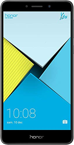 Honor 6X Smartphone (13,97 cm (5,5 Zoll) Full HD Display, 32 GB Speicher, Android) grau