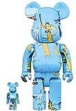 Medicom Toy Jean-Michel Basquiat No. 4 Bearbrick Size 100%400%