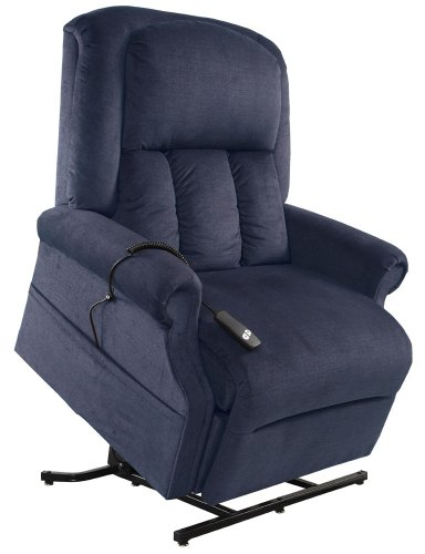Mega Motion Superior- Heavy Duty Lift Chair - Ocean (curbside delivery)