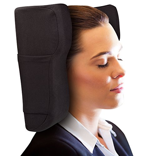 Travel Pillow Designed by Physical Therapist- Memory Foam...