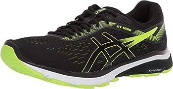 ASICS Men s GT-1000 7 Running Shoes 10M Black/Hazard Green