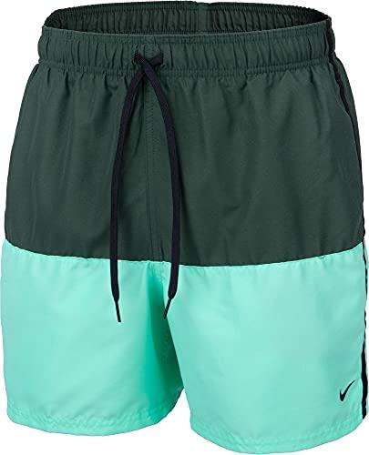 Nike Volley - Costume da Bagno da Uomo, Uomo, Costume da Bagno, NESSA569-303, Galactic Jade, L