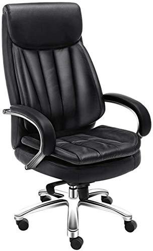 HongLianRiven Spielstuhl Bürostuhl-Tisch Ergonomischer Swivel-Executive-justierbare Task-Computer-High-Back-Stuhl mit der hinteren Unterstützung in Zuhause Gaming Chair