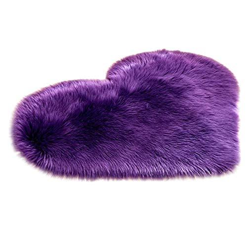 Super Soft Faux Sheepskin Area Rugs for Bedroom Floor Shaggy Plush Carpet Living Room Rug Faux Fur Shaggy Floor Mats...
