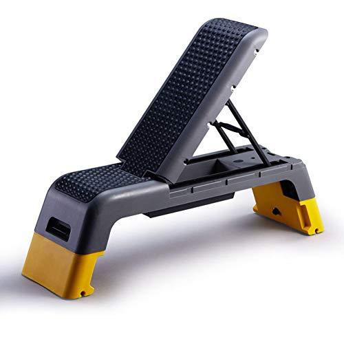 Weight Bench Adjustable Incline Decline, Verstellbare Hantelbank Hantelbank, Flache Trainingsbank 90 Grad Aufrechtes Heimtraining Sit Up Gym Bank