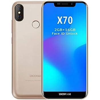 DOOGEE X70 móviles Libres - Pantalla de 5,3 Pulgadas con U-Notch ...