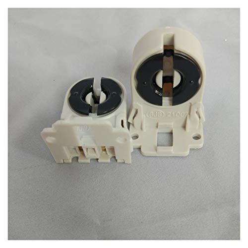 YSQSPWS condensadores electrolíticos T8 Titular de la lámpara T8 Envejecimiento de lámparas T10 Tenedor de lámpara Fluorescente Envejecimiento Suministros de Bricolaje