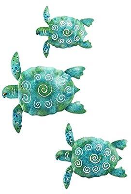 Regal Sea Turtle Wall Décor