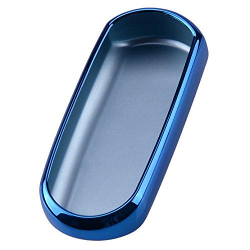 CITALL Télécommande Coque de Clé Fob Coque de Protection Support TPU Souple, Bleu