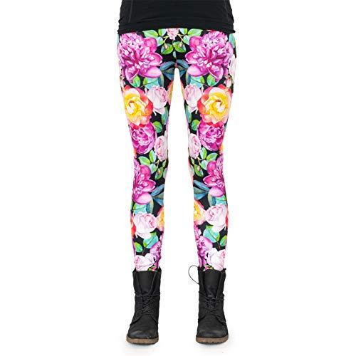cosey - bedrukte kleurrijke legging (OneSize) - diverse ontwerpen
