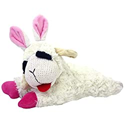 Easter Toys For Dogs - Lambchop Easter Bunny Plush Dog Toy.