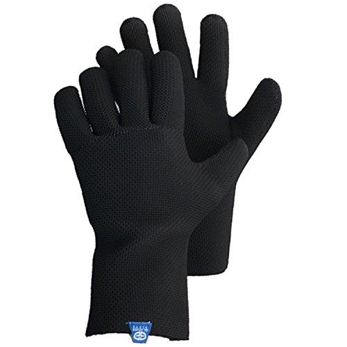 Glacier Handschuh ICE BAY Fishing Glove, Schwarz, Medium