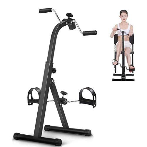 WZYJ Mini Bicicleta estática, con Monitor LCD, para derrame Cerebral Hemiplejía Rehabilitación Pedal de rehabilitación Ejercitador - Brazo y Pierna