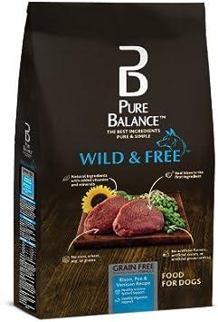 Pure Balance Wild & Free Grain Formula Salmon & Pea Recipe Food for Dogs
