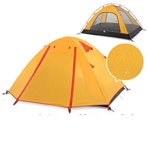 LZL Carpas Ultraligero Tienda Easy Set y Llevar Familia UPF50 Tienda de campaña, a Prueba de Lluvia PU2000 Mochilero Carpa for Acampar al Aire Libre Senderismo Tienda al Aire Libre