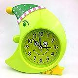 Nuevo Reloj Despertador Creativo pequeño Nuevo Creativo Lindo avión de Dibujos Animados Simple mesita de Noche Reloj Simple