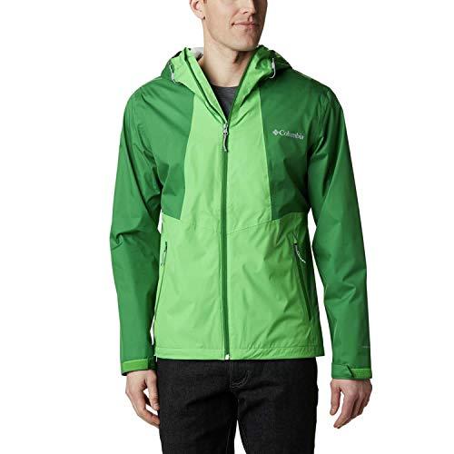 Columbia Inner Limits II, Veste Imperméable, Homme, Vert (True Green, Green Boa), XL