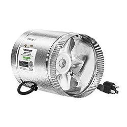 "in budget affordable VIVOSUN 6 ""Duct Fan 240 CFM, HVAC Exhaust Fan, Low Noise, Long 5.5'…"