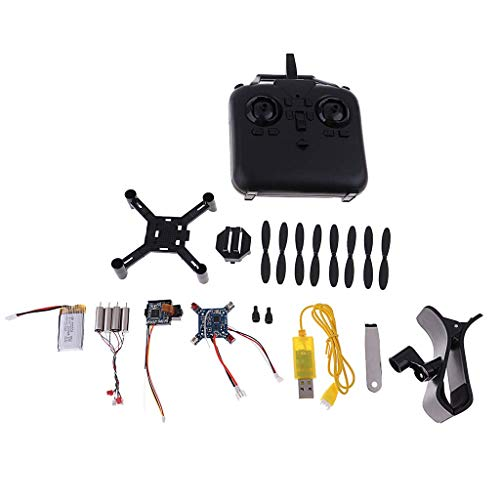XHUENG Alta qualità Telecomando Giocattolo Mini RC Drone Quadcopter con Fotocamera, Kit smontabile