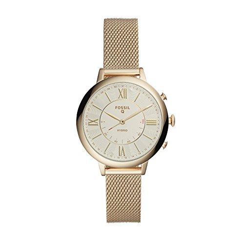 Fossil Damen Analog Digital Uhr mit Edelstahl Armband FTW5020
