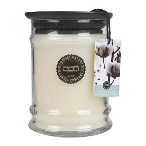Bridgewater Candles - White Cotton - Duftkerze im Glas RAUMDUFT 70h 250g