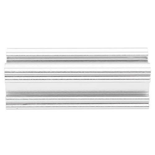 Eloxiertes 72 mm leichtes Aluminium-Linearschienenbalken-Extrusionsprofil Aluminium Silber für 3D-Drucker und CNC