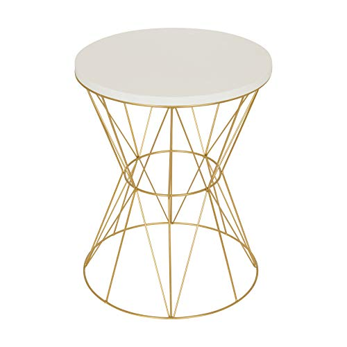 Kate and Laurel Mendel Round Accent Table with...