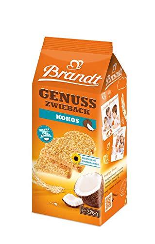 Brandt Kokos-Zwieback, 10er Pack, 10 x 225 g