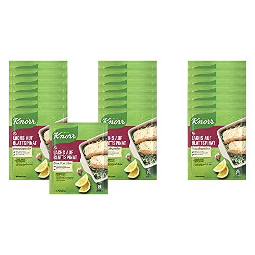 Knorr Fix Lachs auf Blattspinat 2 Portionen (23 x 28 g)