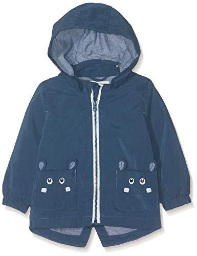 NAME IT Baby-Jungen Jacke NBMMATE Jacket, Blau (Dark Denim), (Herstellergröße: 74)